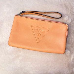 Guess wristlet purse